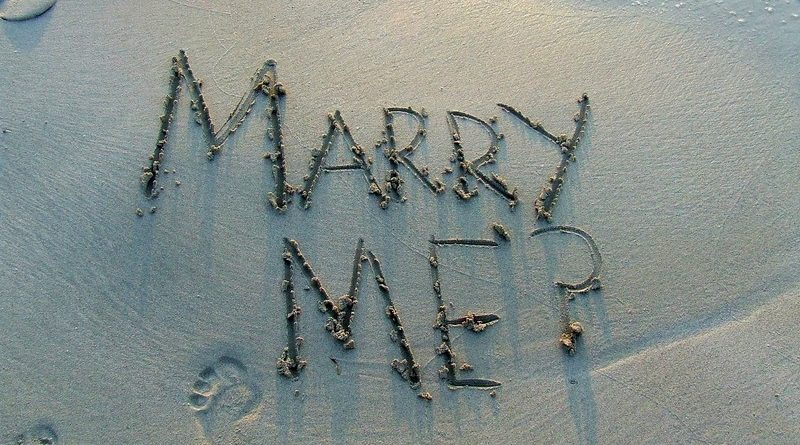 demande en mariage